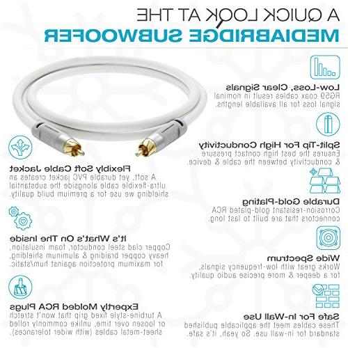Mediabridge Cable White