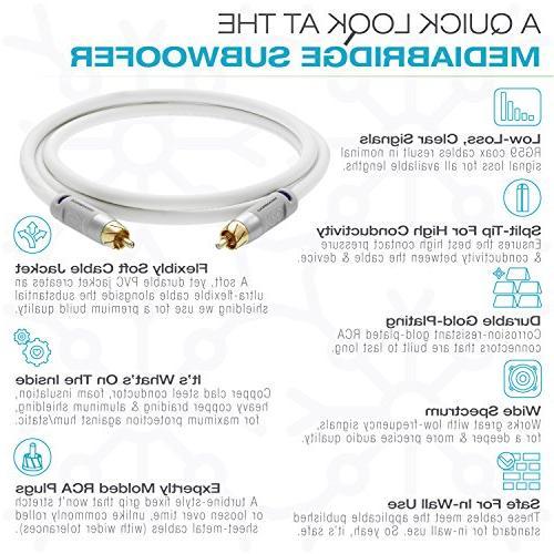 Mediabridge Cable White