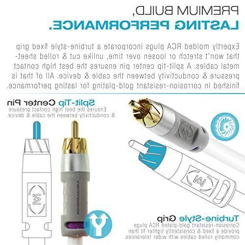 Mediabridge ULTRA Cable - Plated White
