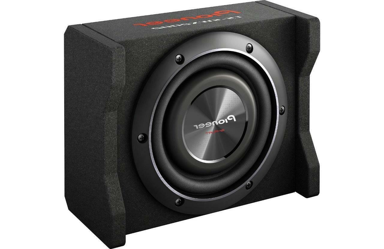 "Pioneer - 8"" Single-voice-coil 4-ohm Subwoofer - Black"