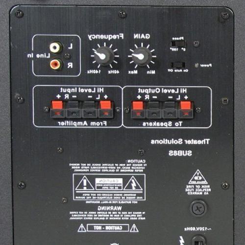 Theater Solutions 250 Watt Sound Home Active