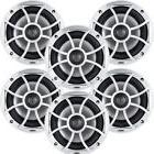 """Wet Sounds Bundle: 3 pair XS 650 Series Silver Grill 6.5"""" Sp"""