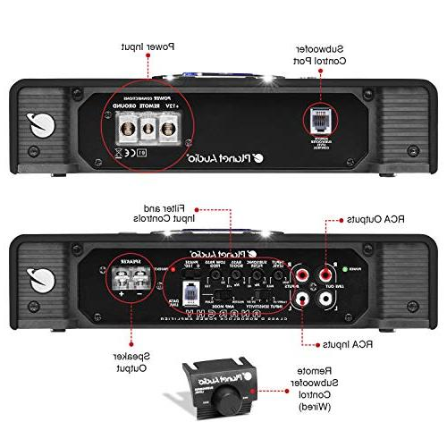 Planet Amplifier 5000 Stable, D, Monoblock, MOSFET Supply, Subwoofer Control