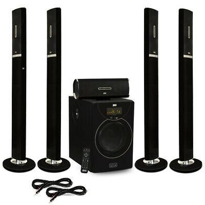 acoustic audio aat2002 tower 5 1 bluetooth