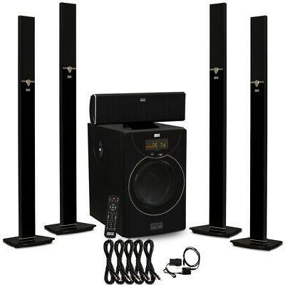acoustic audio aat2003 bluetooth 5 1 speaker