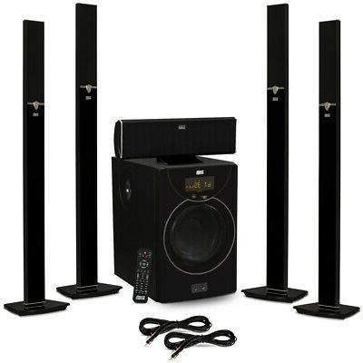 acoustic audio aat2003 tower 5 1 bluetooth