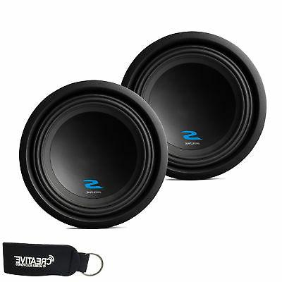 alpine subwoofer package two s w10d4 s