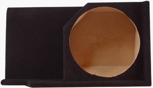 "ASC Silverado Size 1988-1998 Single 12"" Subwoofer Custom Fit Sub Speaker Enclosure"