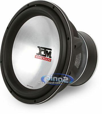 MTX Watt inch Dual 4 Ohm Thunder Sub