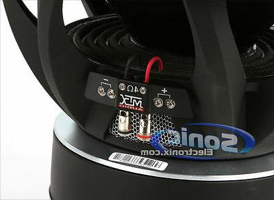 MTX 2000 inch Dual Thunder 9500 Sub Subwoofer | T951544