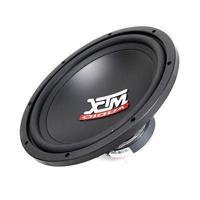 "MTX Audio TN12-04 Car 12"" Terminator Single 4 Subwoofer 400W New"