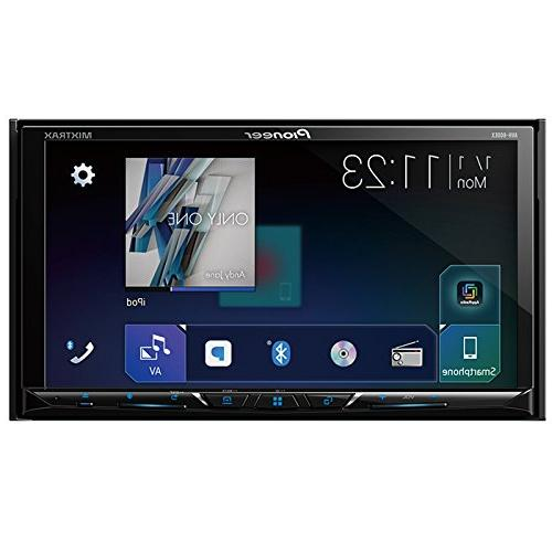 """AVH-600EX Receiver w/ 7"""" WVGA Bluetooth Single Double DIN Dash for Night Vision Backup Color Camera"""