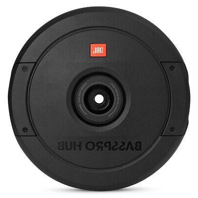 basspro hub 11 spare tire subwoofer w