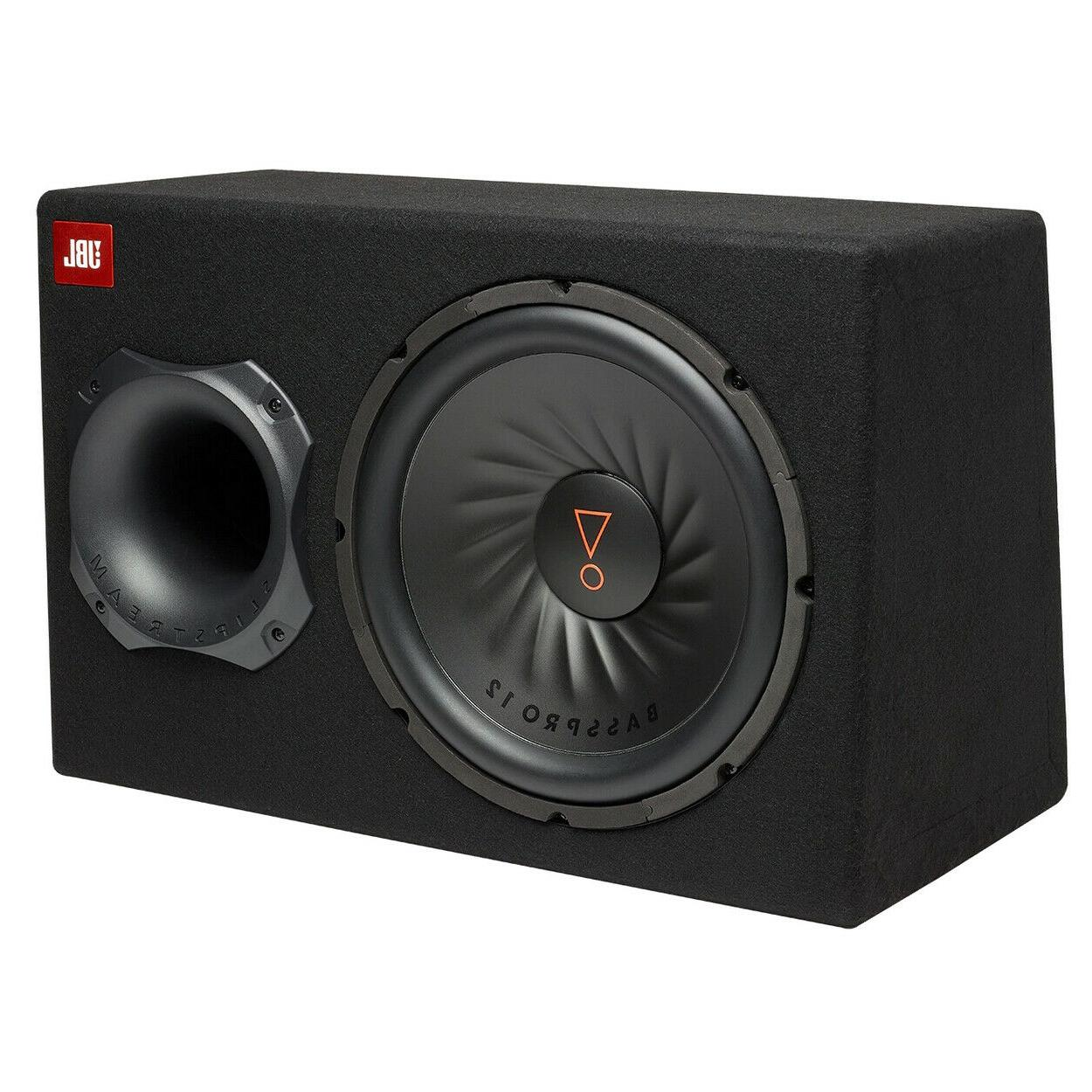basspro12 ported powered subwoofer with 12 sub
