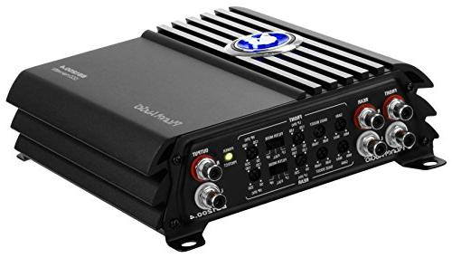 Planet BB1200.4 Big Bang 1200 Channel, Ohm Class Bridgeable, Car Amplifier with Remote Control