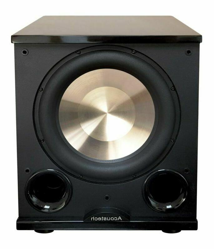 bic acoustech pl 200 ii subwoofer gloss