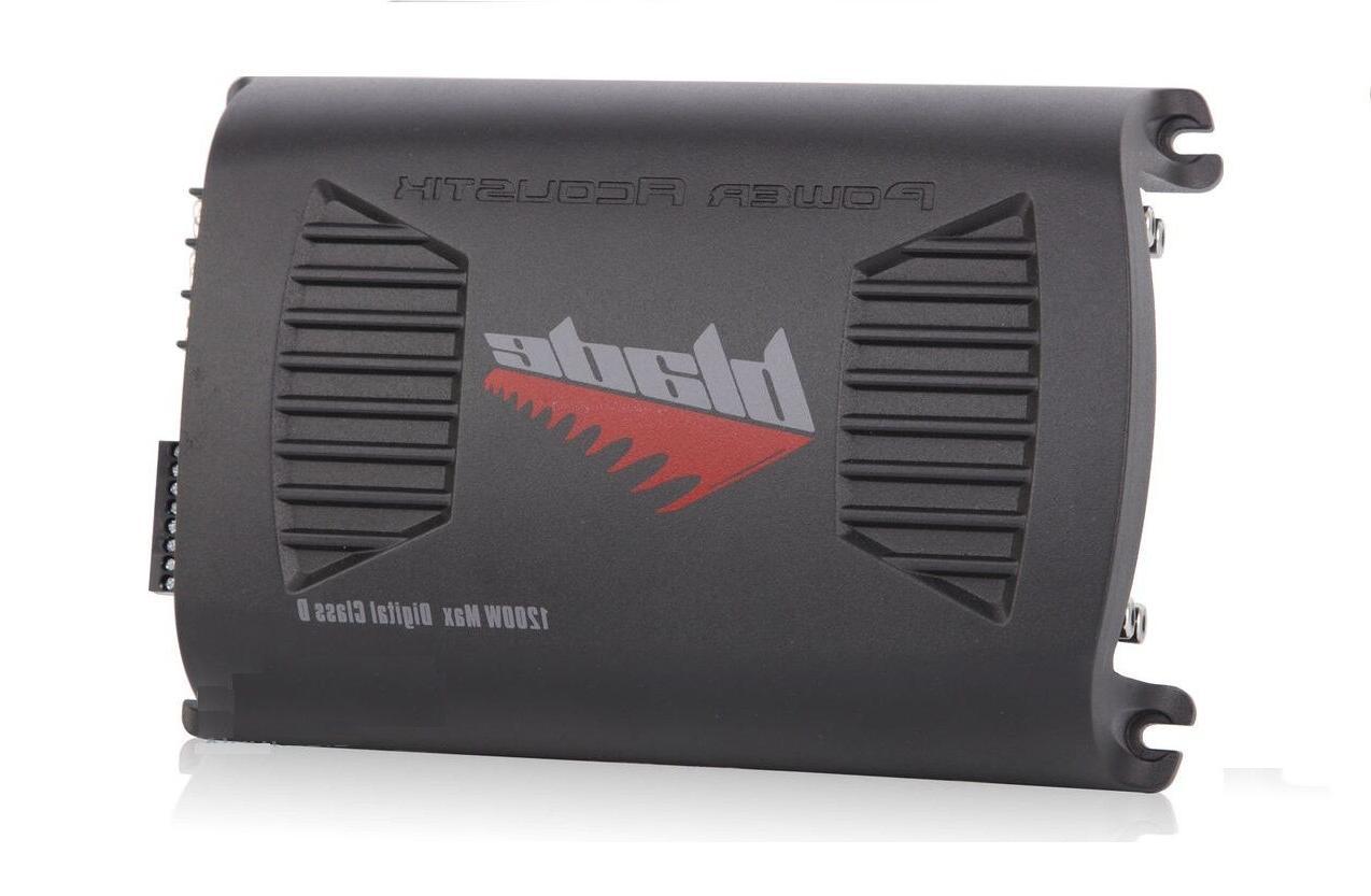 Power Acoustik BLADE4-1200D Watt Car Audio Amplifier