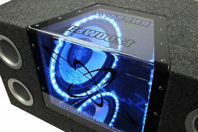 "Pyramid 10"" 1000W Dual Box 1100W Amp"
