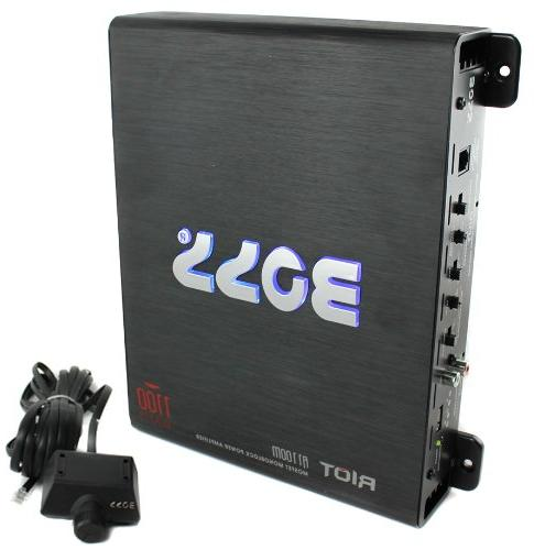 Kicker 1200W Car Audio Subwoofer Enclosure+Mono