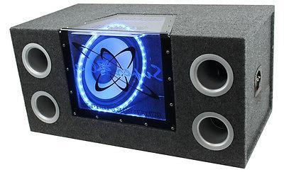 "PYRAMID BNPS122 12""1200W Car Audio Sub Box Subwoofer Bandpas"