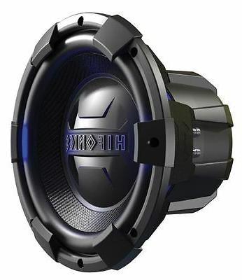 Hifonics BRX12D4 Brutus Dual Subwoofer, 4-Ohm 450-Watt 12-In