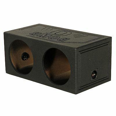 "Q-POWER QBOMB 15"" Dual Sealed Car Subwoofer Sub Box Enclosur"