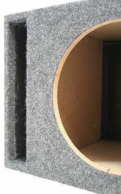 Single Ported Subwoofer Box Car Audio Stereo