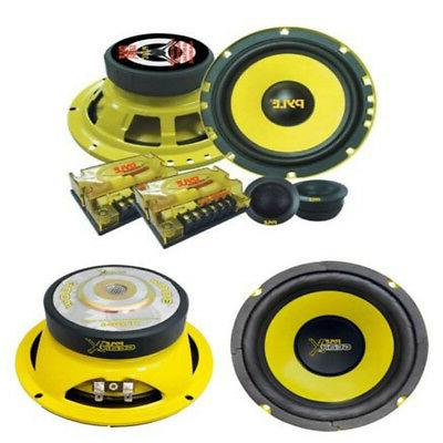 car subwoofer speakers 2 plg6c 6 5