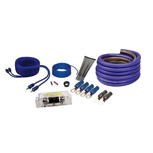 """Kicker 10"""" DUBa2100 200 Watt wire kit Truck enclosure package"""