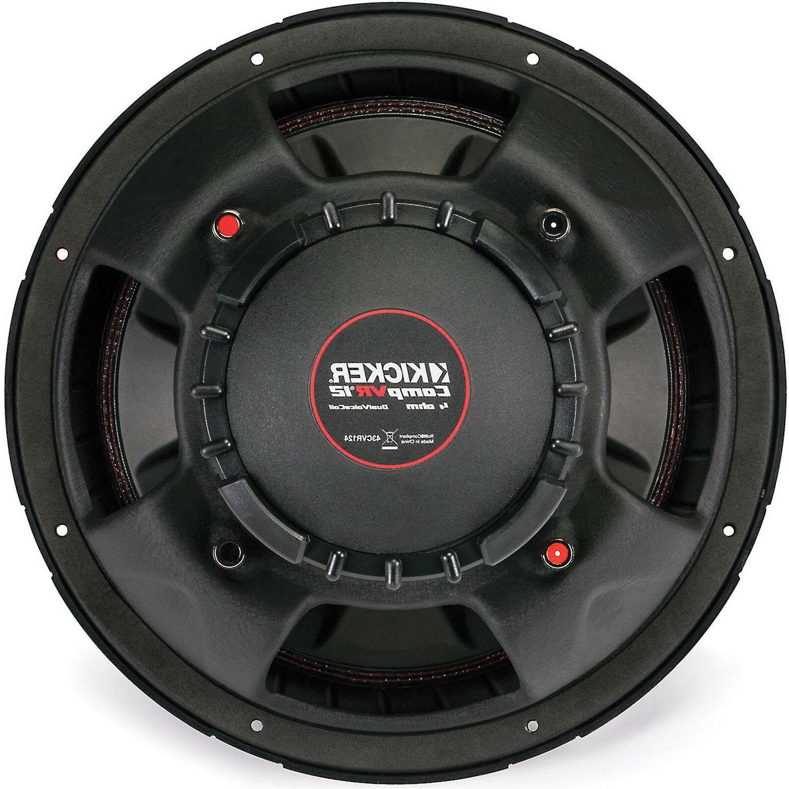 Kicker Subwoofer Ohm Voice 43CVR124