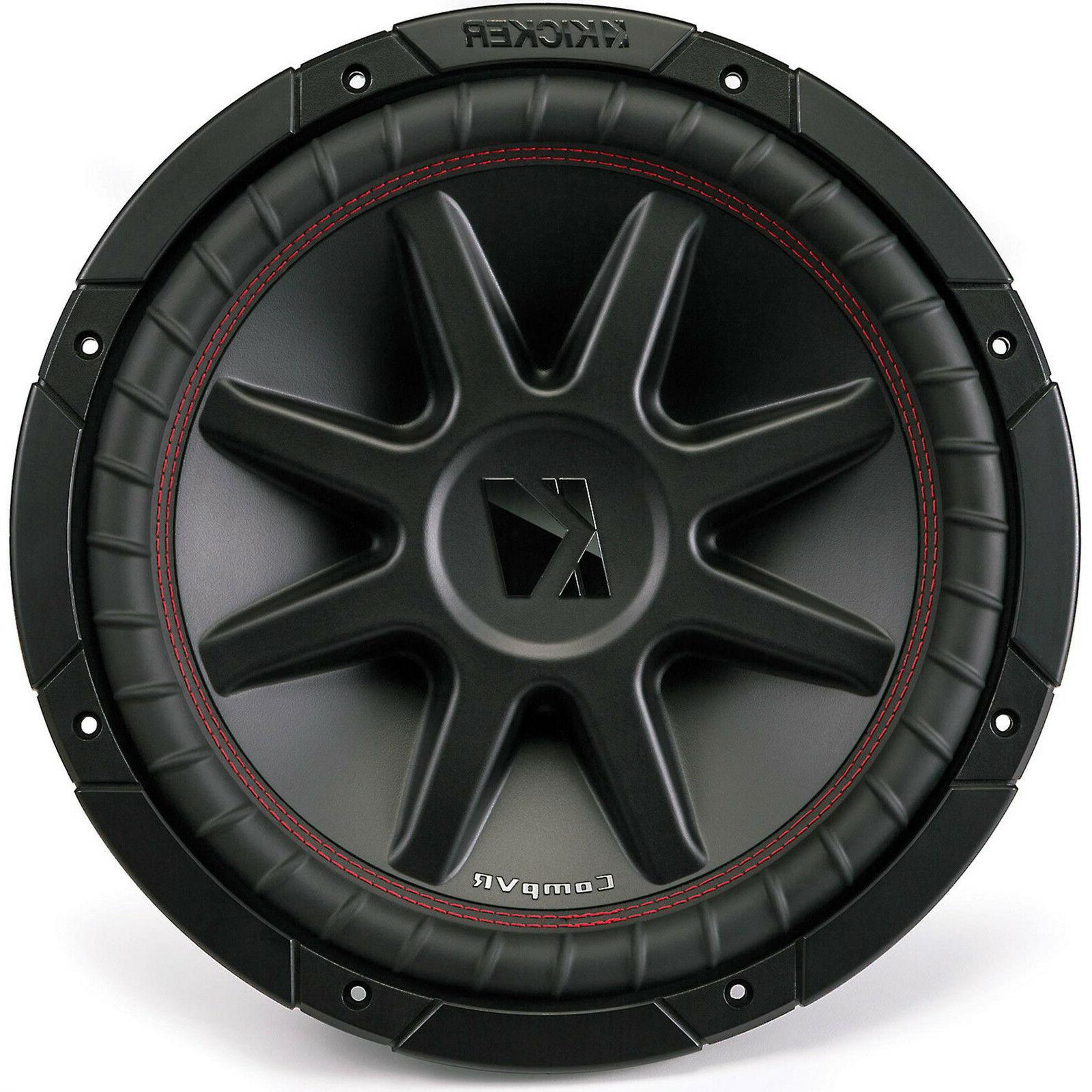 compvr 12 inch subwoofer with dual 4