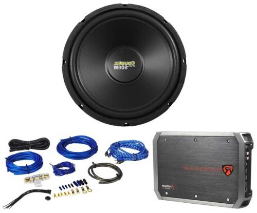 MTX Audio C124 Coustic Car Subwoofer