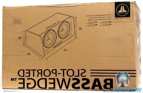 """JL 12"""" 12W0v3 Enclosure Box"""