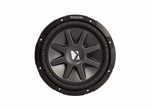 Kicker 10 CVR package Two Kicker Inch Series 4 ohm Dual Coil Subwoofers