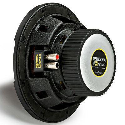"Kicker Car CompC Dual 4 Ohm 8"" Sub Brand"