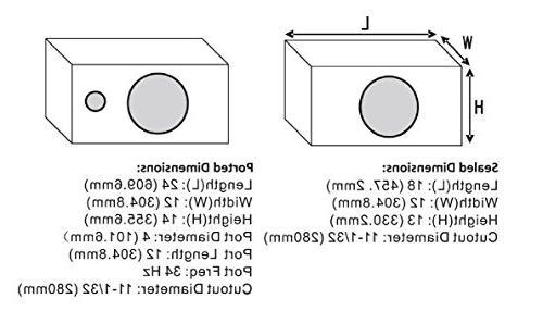 BOSS Audio CXX12 Subwoofer Maximum 12 Single Ohm Voice Coil, Individually