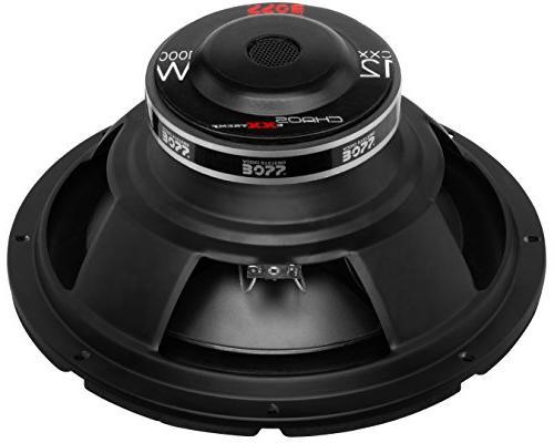 BOSS Audio CXX12 Subwoofer - Watts Maximum Power, Single 4 Coil, Sold