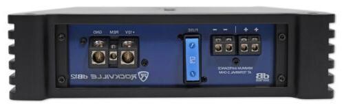 Rockville RMS 2 Ohm Amplifier Audio