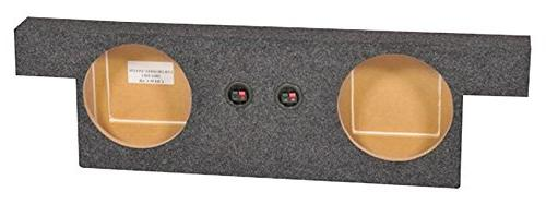 dual 10 subwoofer sub box for 2004