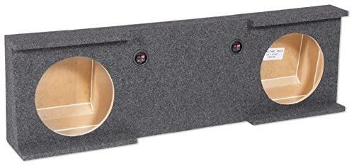 "Rockville Dual 10"" Sub Enclosure Box 07-13 GMC/Chevy Sierra/"