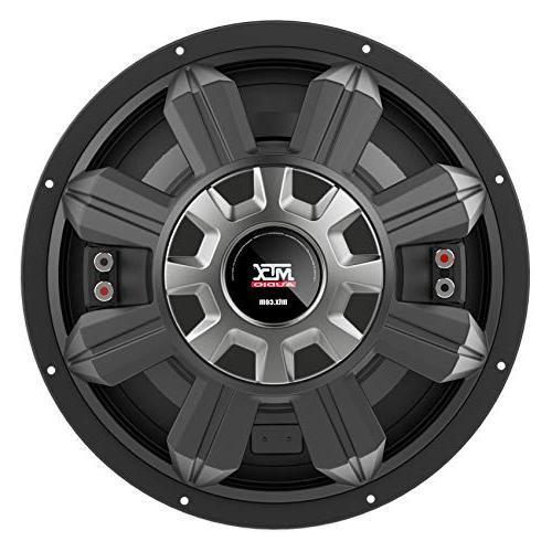 MTX 5512-22 Watt 2-ohm Car Audio Subwoofer+Ventled Enclosure