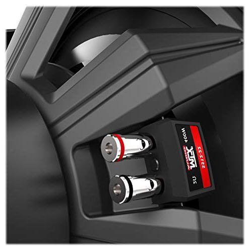 MTX Watt DVC Car Audio Subwoofer+Ventled Sub Box Enclosure