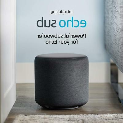 Echo Sub - Powerful subwoofer for device