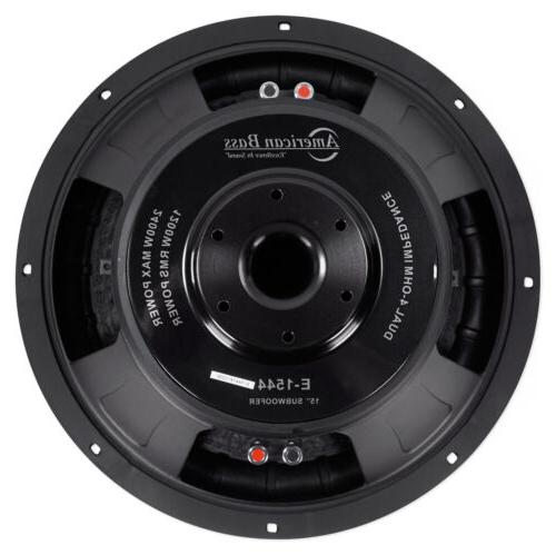 """American 15"""" Competition 3"""" Voice Coil/150Oz"""