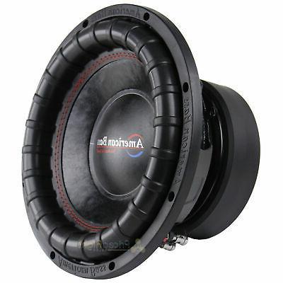 American Bass Elite Series 1244 Dual 4 1200 RMS Power