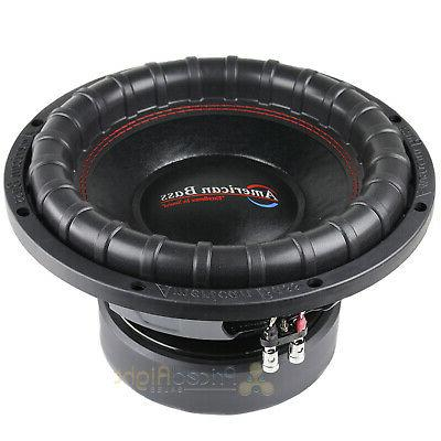 American Bass Series 1244 Subwoofer Dual 4 1200 Power
