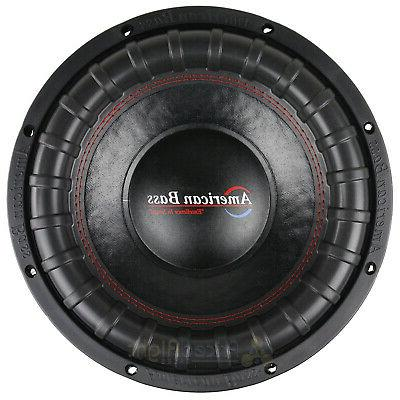 American Bass Subwoofer Dual 1200