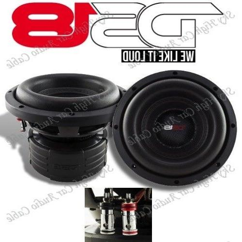 "DS18 Elite Z6 6.5/"" Subwoofer Dual 4 Ohm 600 Watts Max Bass Sub Speaker Car 2"