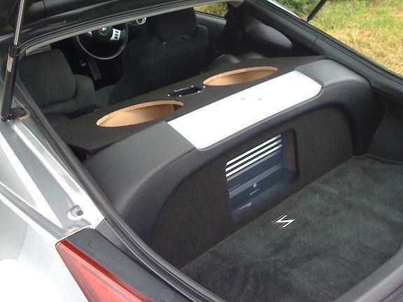 Custom Nissan 350Z custom sub box