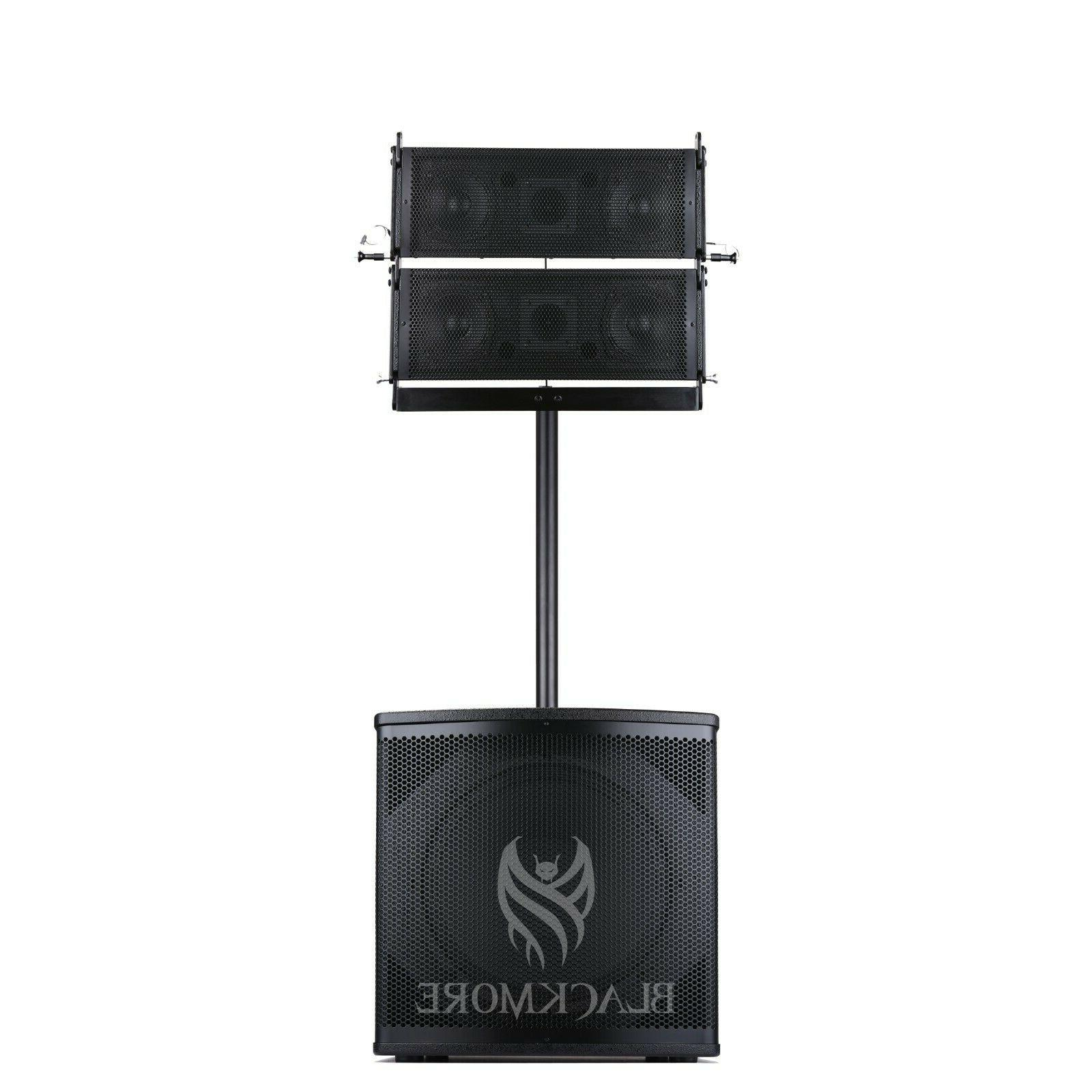 full range 4900w bluetooth mp3 pa system